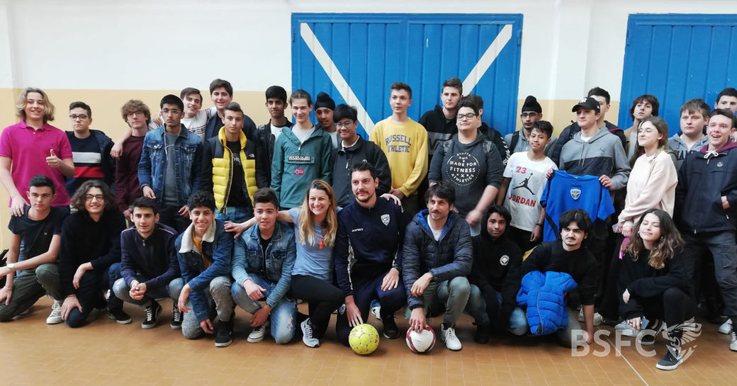 BSFC School fa tappa all'istituto IPSIA Moretto