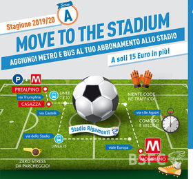 Move to the stadium: aggiungi metro e bus al tuo abbonamento alle rondinelle!