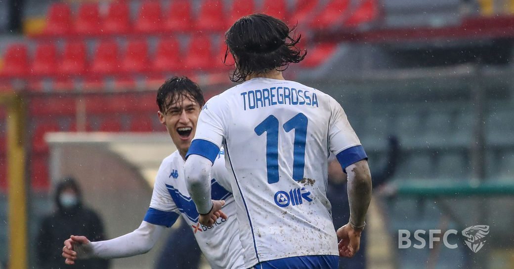 Highlights: Cremonese-Brescia 2-2